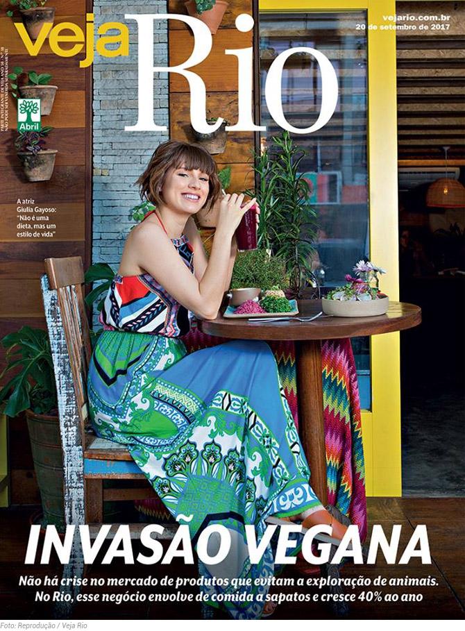 Revista Veja Rio Traz Uma Excelente Matéria De Capa Sobre O Crescimento Do Veganismo Na Cidade