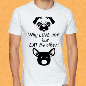 Camiseta – Vegan – Why Love One?