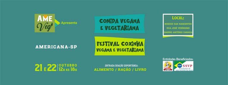 Americana Terá Festival Vegano