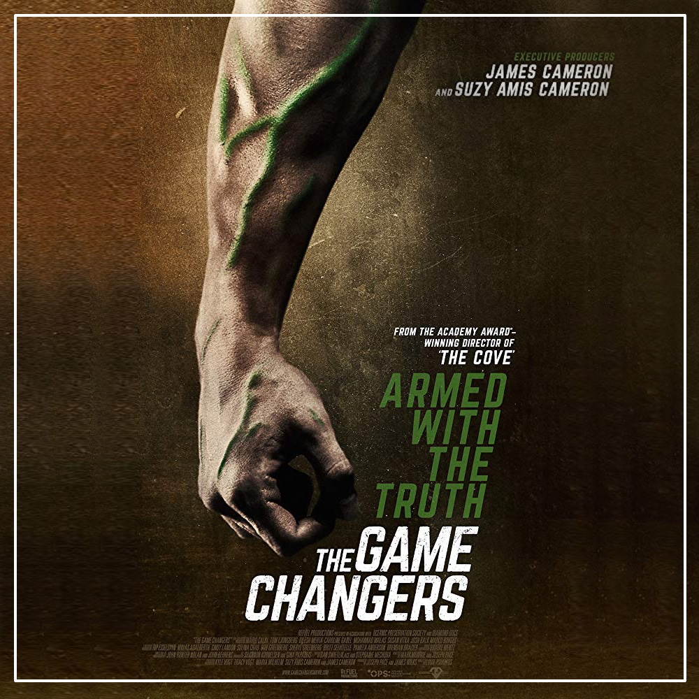 The Game Changers – O Novo Filme De James Cameron Sobre Atletas Veganos.