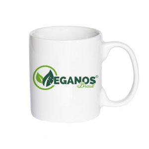 Caneca De Porcelana – Veganos Brasil
